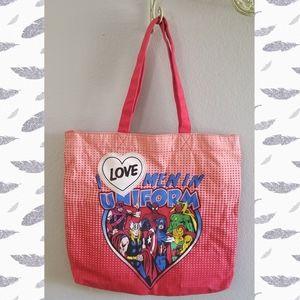 FREE if Bundled!!! Marvel 100% Cotton Tote Bag